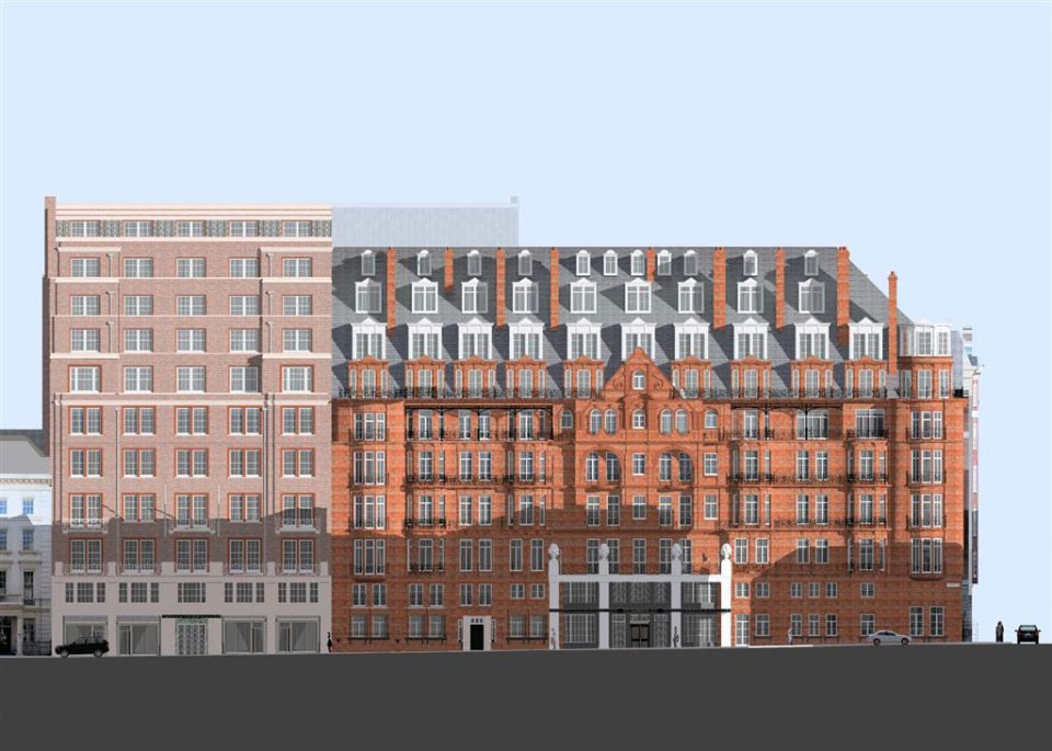 claridges hotel london blair associates architecture